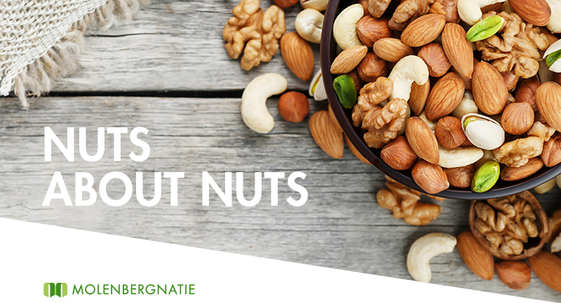 Nuts about nuts. Molenbergnatie celebrates National Nut Day, October 22nd